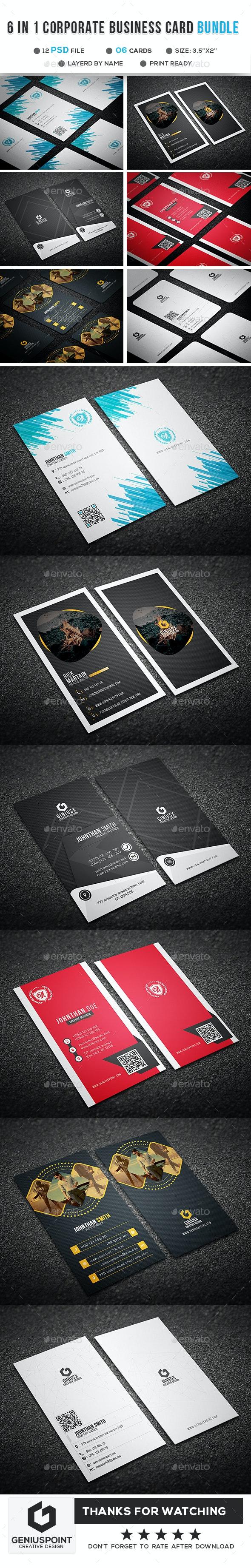 Big Bundle Vol.05 - Business Cards Print Templates