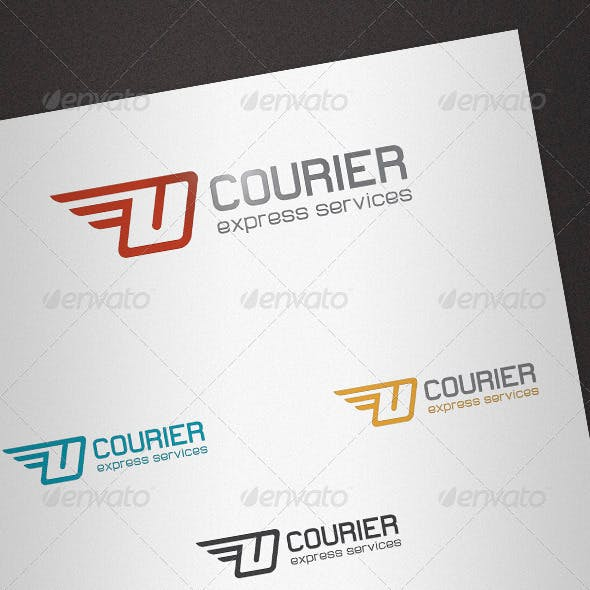 Courier Logo Template