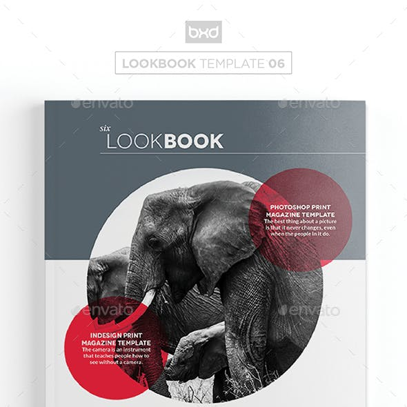Magazine/Lookbook Template InDesign & Photoshop 06