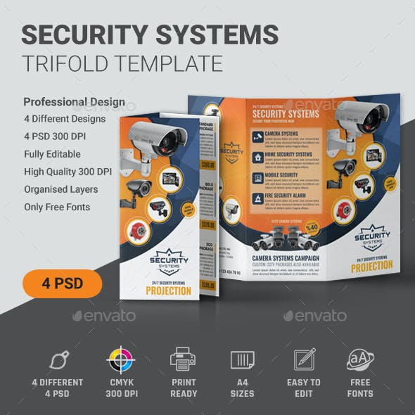 Security Trifold