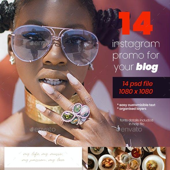 Instagram Blog Promo Pack