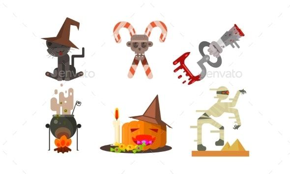 Halloween Icons Set - Halloween Seasons/Holidays