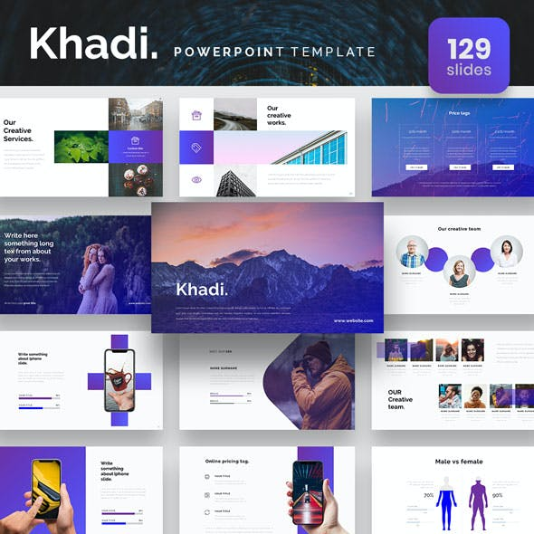 Khadi Powerpoint Presentation Template