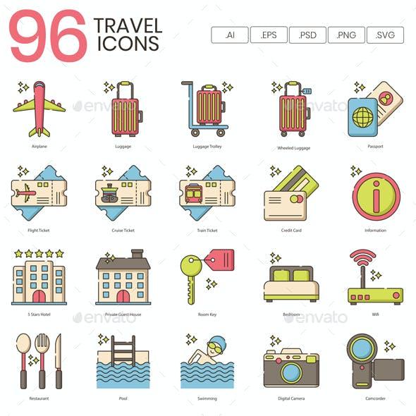 Travel Icons - Hazel