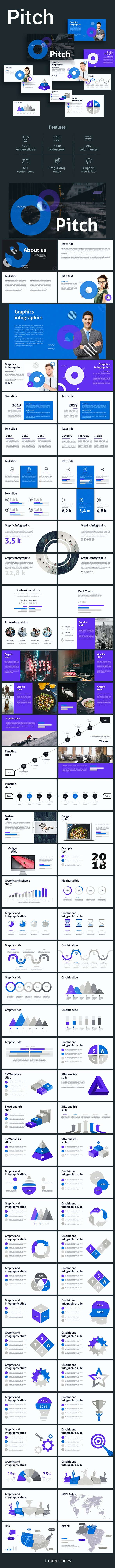 Pitch Keynote Template - Business Keynote Templates