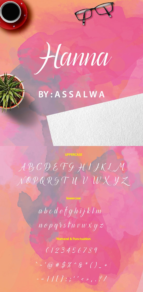 Hanna - Handwriting Fonts