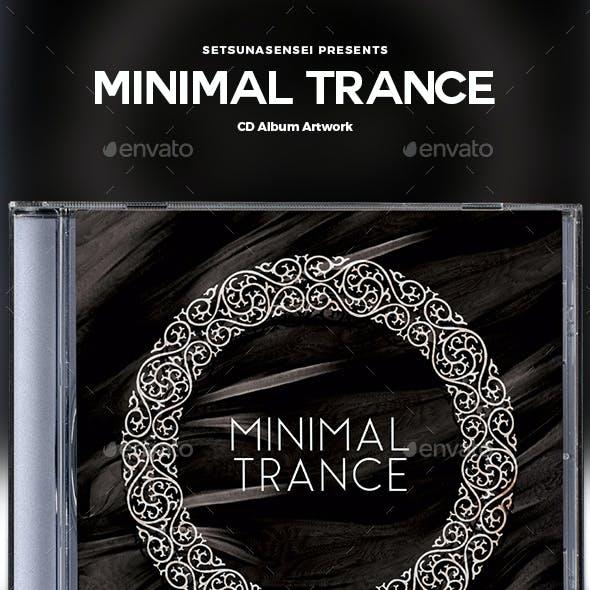 Minimal Trance CD Album Artwork
