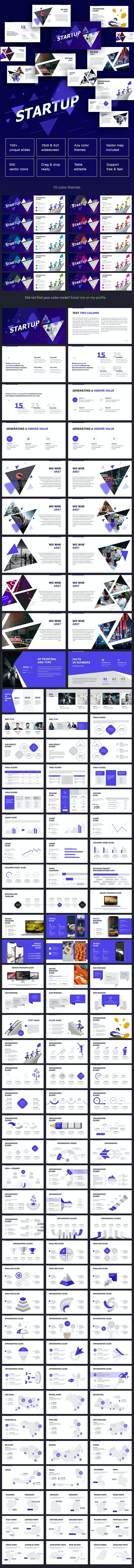 Start Up Powerpoint - Business PowerPoint Templates