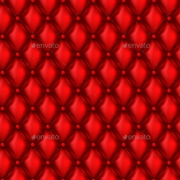 Vector Leather Upholstery Seamless Pattern - Patterns Decorative