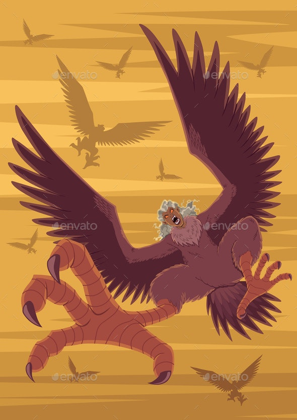 Harpies Flock Attack - Miscellaneous Characters