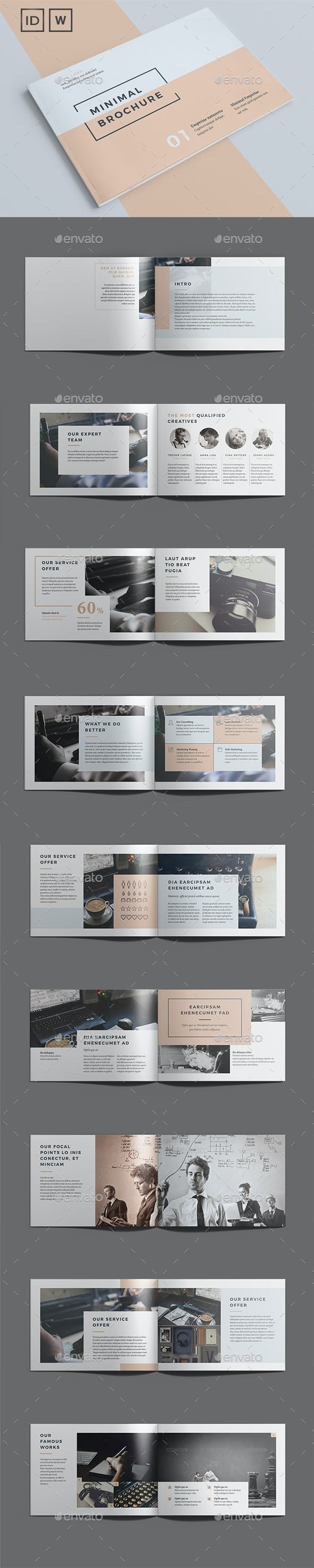 Minimal Brochure Vol II - Catalogs Brochures