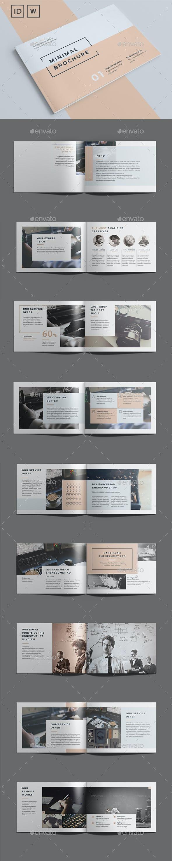 Minimal Brochure Vol II - Catalogs Brochures