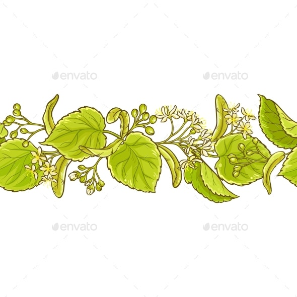 Linden Vector Pattern - Food Objects