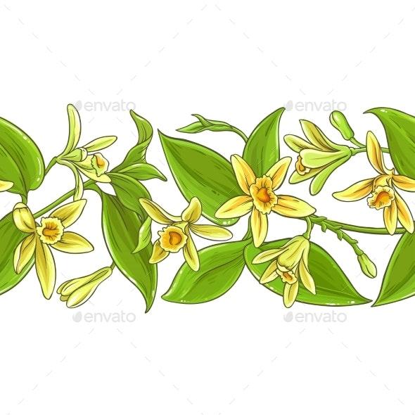 Vanilla Vector Pattern - Health/Medicine Conceptual