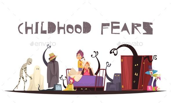 Childhood Fears Concept - Miscellaneous Conceptual