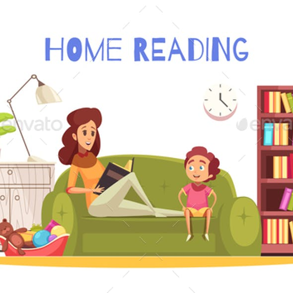 Home Reading Background