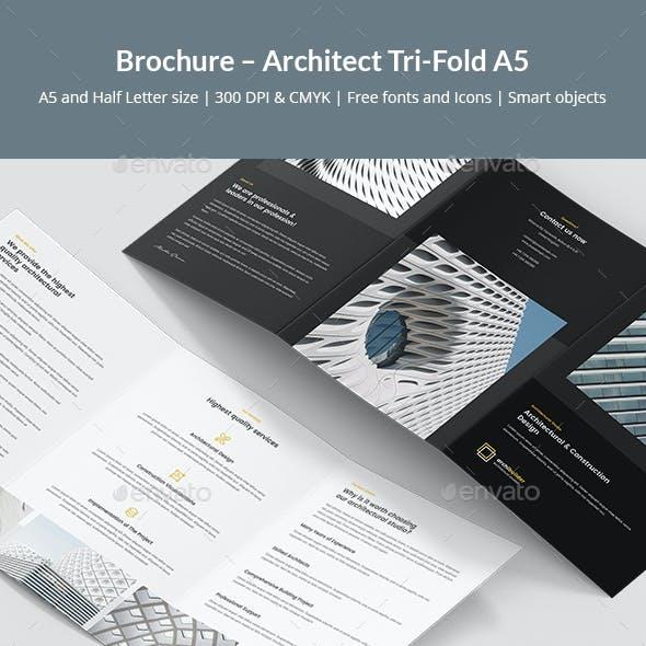 Brochure – Architect Tri-Fold A5
