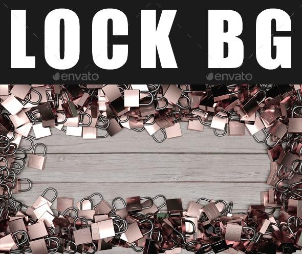 Lock BG - Backgrounds Graphics
