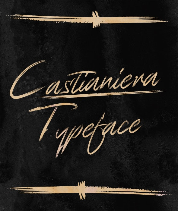 Castianiera - Handwriting Fonts