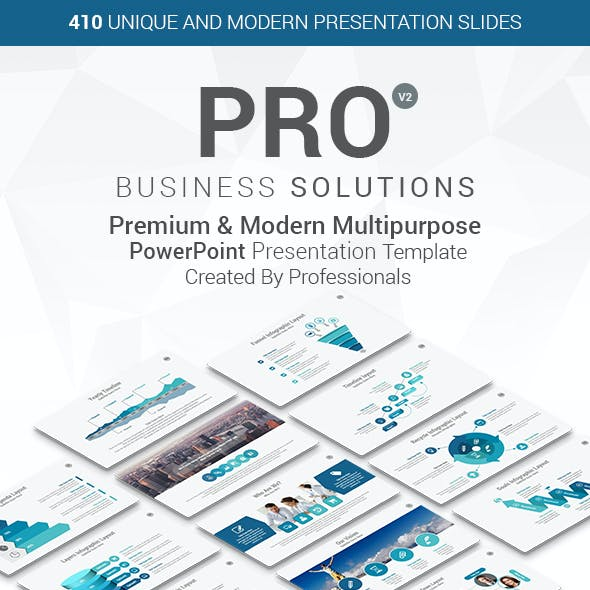 PRO Multipurpose PowerPoint Presentation Template