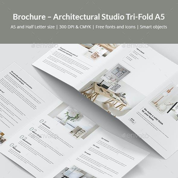 Brochure – Architectural Studio Tri-Fold A5