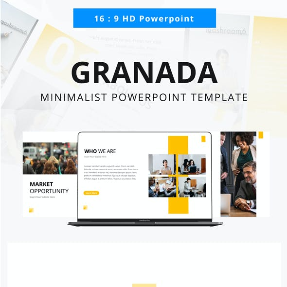 Granada Business Powerpoint Template