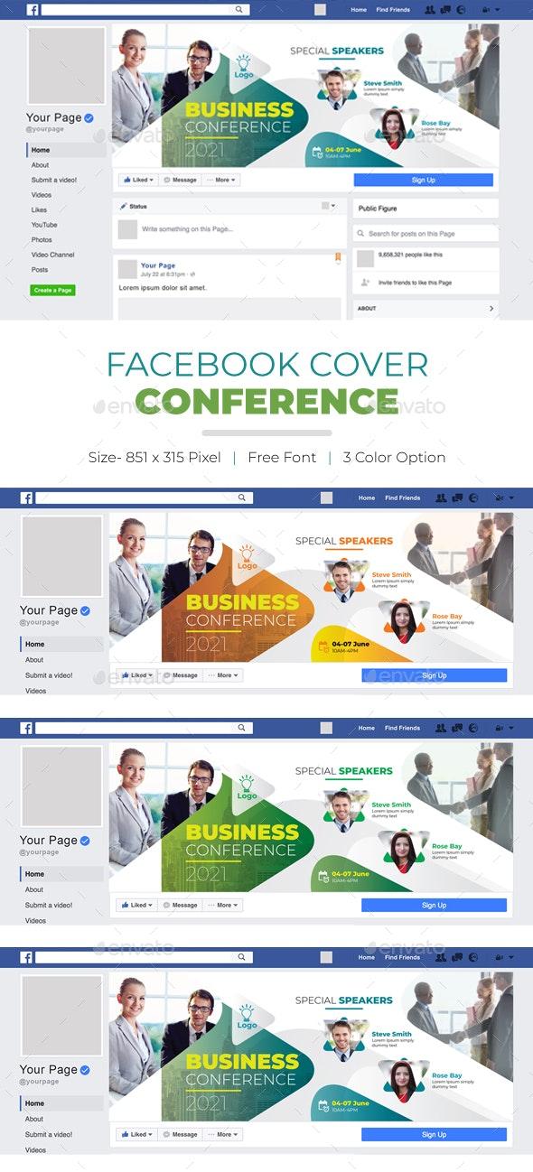 Conference Facebook Cover - Facebook Timeline Covers Social Media