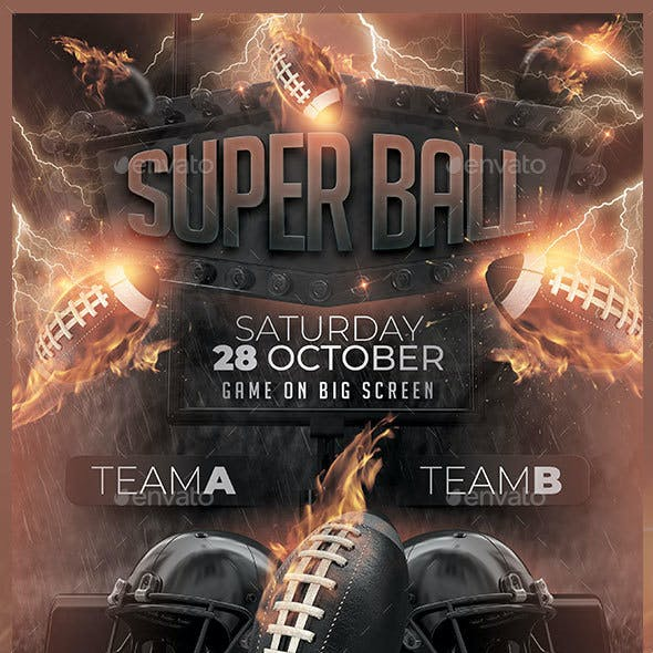 Super Ball Flyer