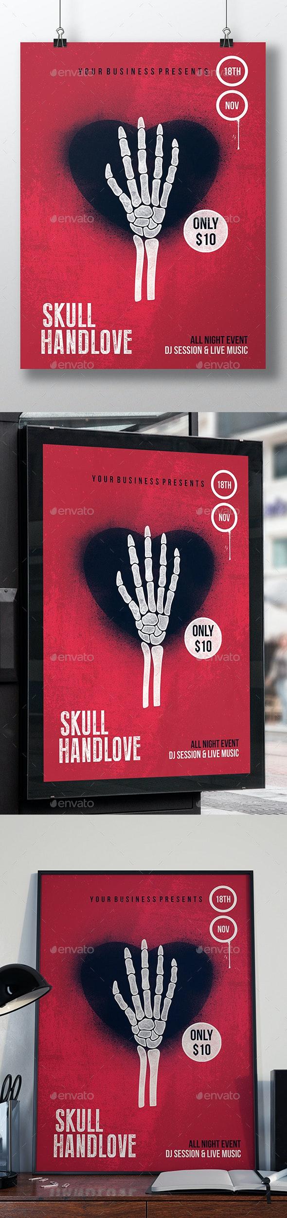 Dead Love Flyer Template - Miscellaneous Events
