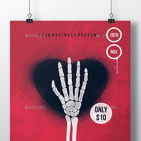Dead Love Flyer Template
