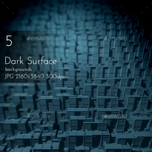 Dark Surface Backgrounds
