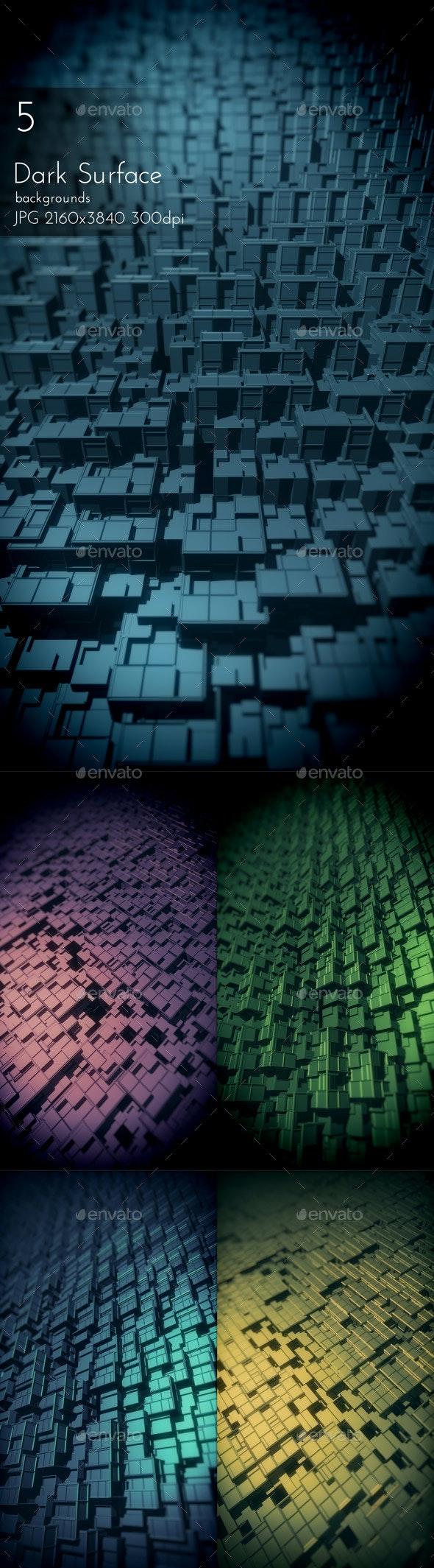 Dark Surface Backgrounds - Tech / Futuristic Backgrounds
