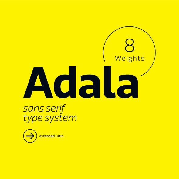 Adala Sans Pro Font