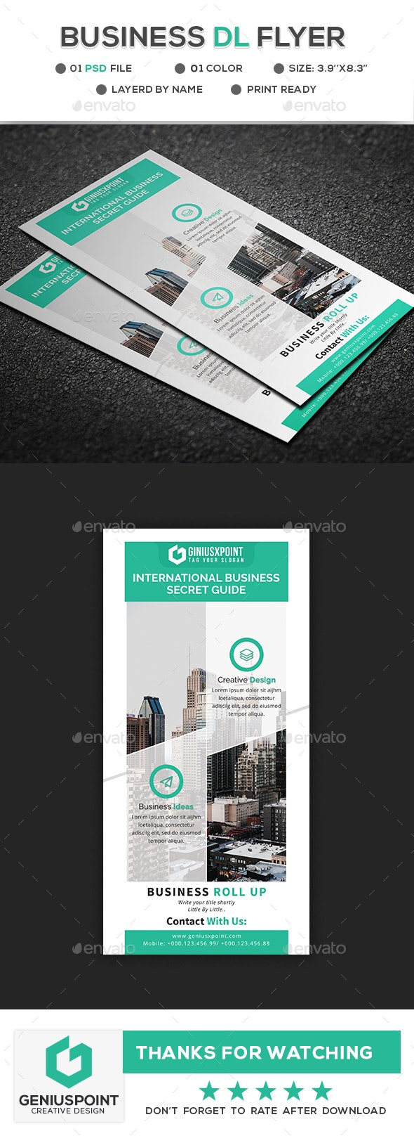 Business DL Flyer - Corporate Flyers