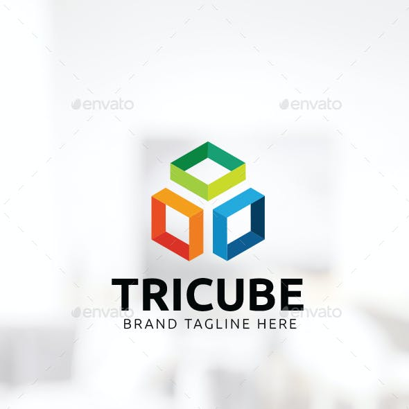 Three Cube Logo
