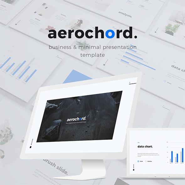 Aerochord - Minimal & Business Template (KEY) - Business Keynote Templates