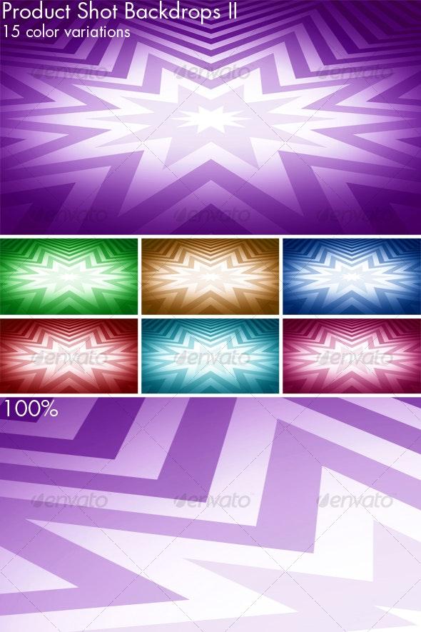 Product Shot Backdrops - set II - Backgrounds Graphics