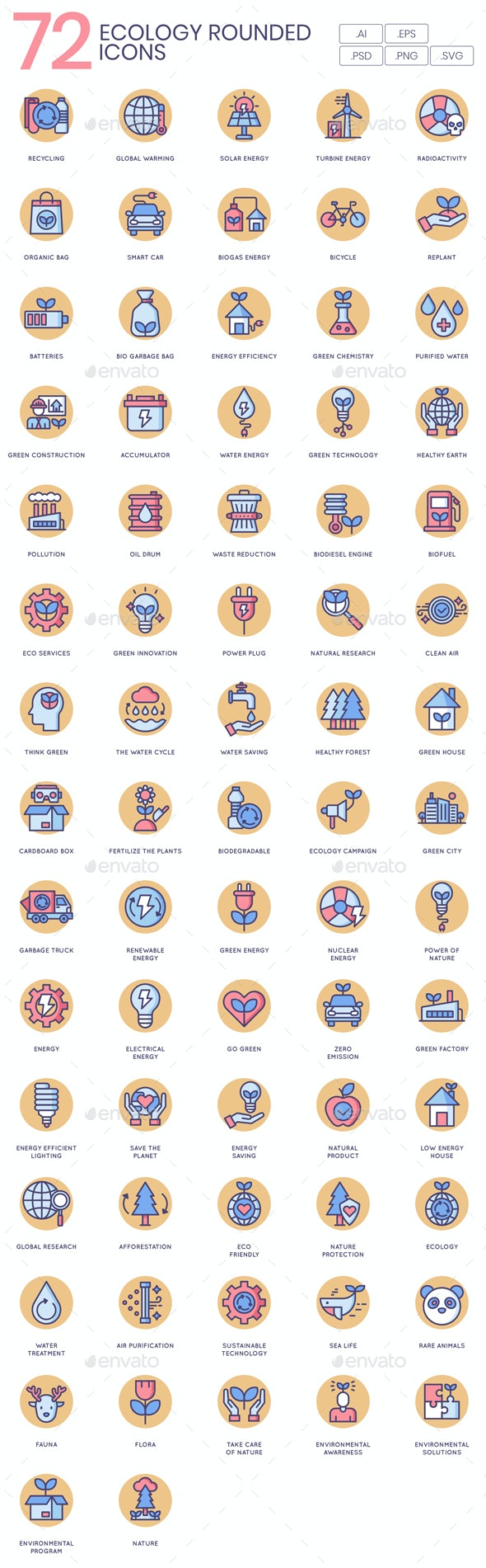 Ecology Icons - Butterscotch - Technology Icons