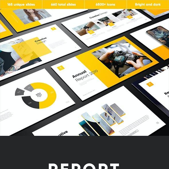 Report Multipurpose Keynote Template
