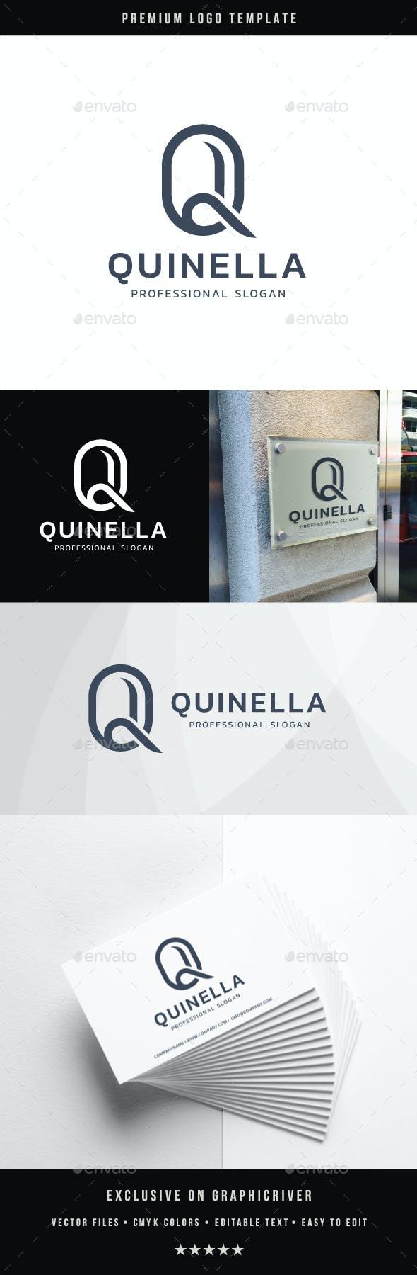 Letter Q - Quinella Logo