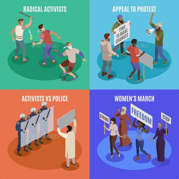 Activists 2x2 Design Concept - Miscellaneous Conceptual
