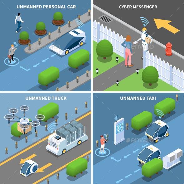 Autonomous Cars Design Concept