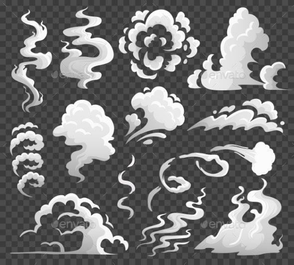 Smoke Clouds.  - Miscellaneous Vectors