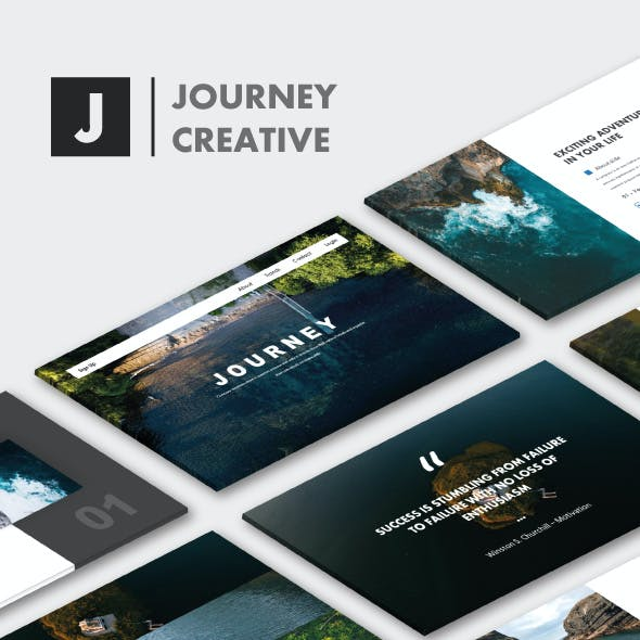 Journey Creative PowerPoint Templates