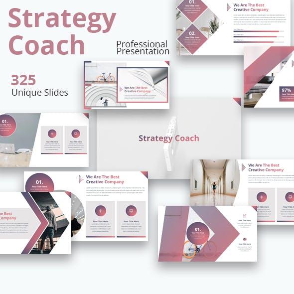 Strategy Coach Multi-purpose Powerpoint Presentation Template