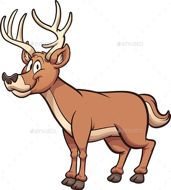 Cartoon Deer - Animals Characters