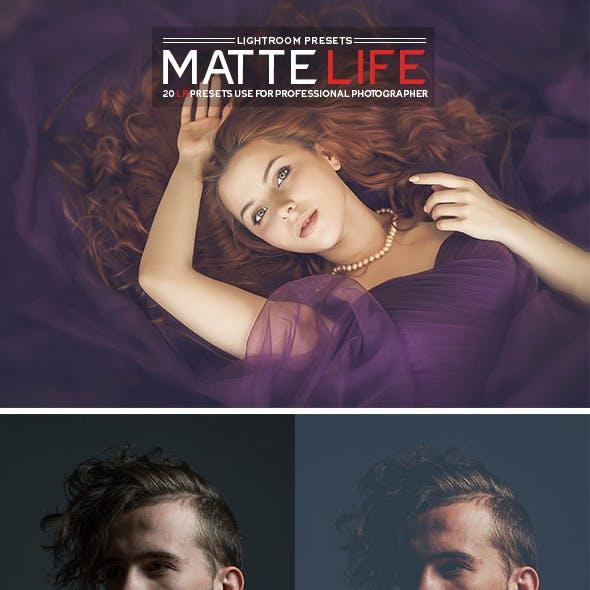20 Matte Life Lightroom Presets