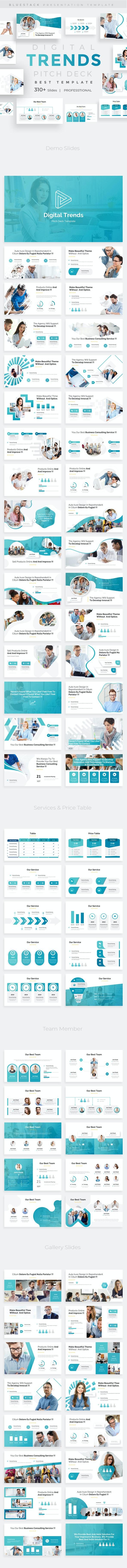 Digital Trends Pitch Deck Multipurpose Keynote Template - Miscellaneous Keynote Templates