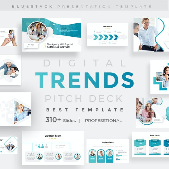 Digital Trends Pitch Deck Multipurpose Keynote Template