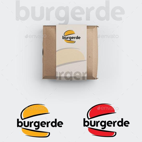 Burger Logo Template / Burgerde